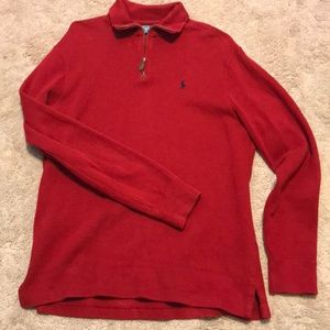 Polo pullover sweater EUC
